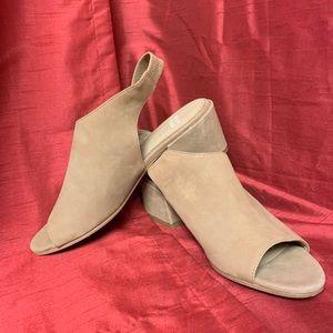 """Eileen Fisher """"Vero Cuoio"""" Heels Size 8.5"""